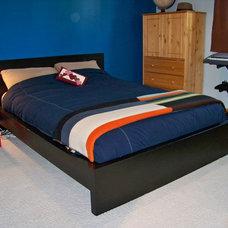 Contemporary Bedroom by MistiK Design Studio
