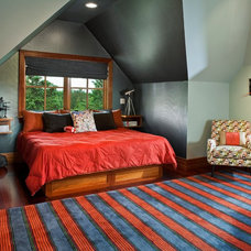 Contemporary Bedroom by Inspired By Design, LLC