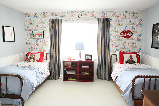 Eclectic Bedroom by Julie Ranee Photography