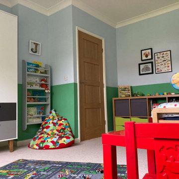 Boys Bedroom - Tractor Theme