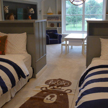 Boys bedroom with playroom