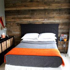 Contemporary Bedroom Boys Tween Room