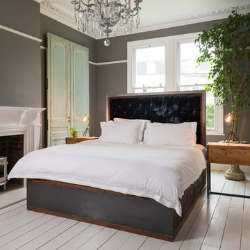 Brandler Bespoke Beds with Storage and Upholstered Headboard