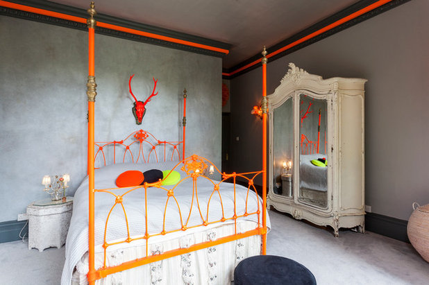 Eclectic Bedroom by Chris Snook