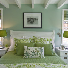 Beach Style Bedroom by Viscusi Elson Interior Design - Gina Viscusi Elson