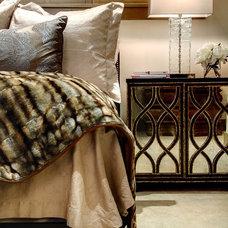 Contemporary Bedroom by Slifer Designs