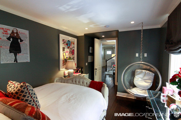 Eclectic Bedroom by Chic Living LA