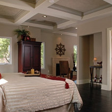 Contemporary Bedroom by Design Works LLC