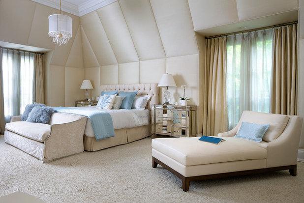 Contemporary Bedroom by Brandon Barré Architectural Interior Photographer