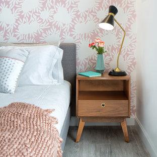 Chambre Avec Un Mur Rose Et Un Sol En Vinyl Photos Et Idées Déco