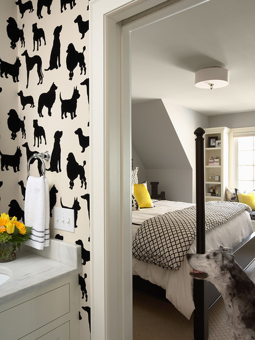 Dog Wallpaper For Walls dog wallpaper   houzz