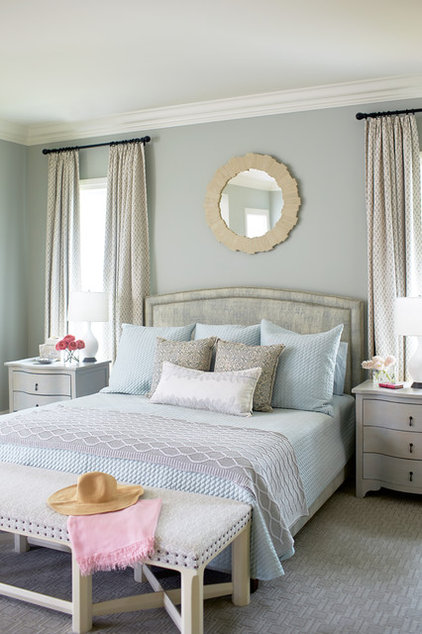 Beach style bedroom by andrew howard interior design
