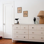 Bright White Bedroom Eclectic Bedroom Dallas By Emily Mccall