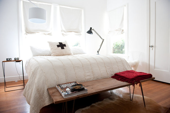 Contemporary Bedroom by Emily McCall