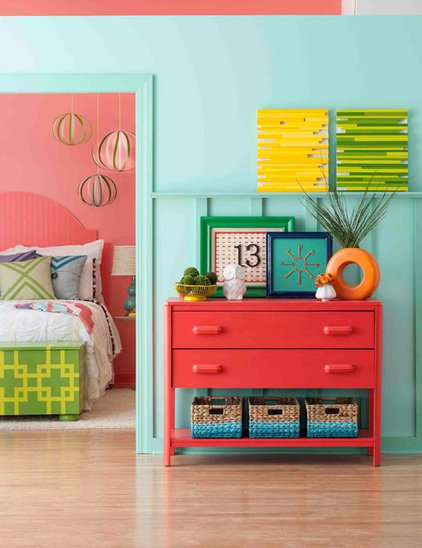 Eclectic Bedroom by Lowe's Home Improvement
