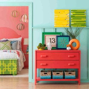 Eclectic bedroom photo in Charlotte
