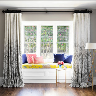 Brighton Bohemian Master Bedroom  Window Seat