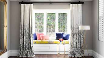 Brighton Bohemian Master Bedroom  Window Seat