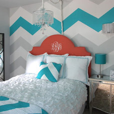 Contemporary Bedroom by Jaimie Lyn Interiors