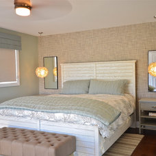 Beach Style Bedroom by StyleHaus Interiors