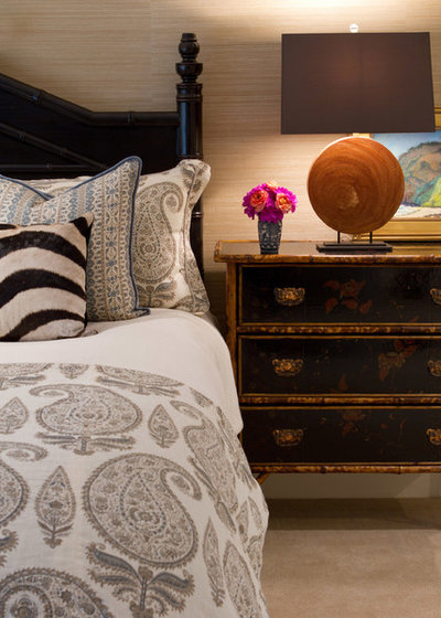 American Traditional Bedroom by Charmean Neithart Interiors