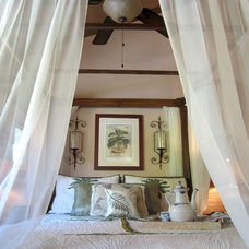 Tropical Bedroom by Full Circle Interior Solutions