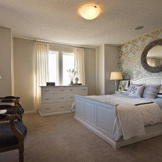 Traditional Bedroom by Brookfield Residential Alberta