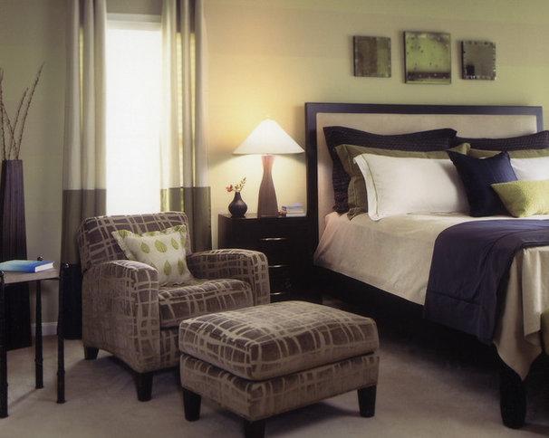 Contemporary Bedroom by Dillard Pierce Design Associates
