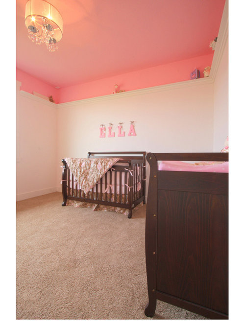 Arts and crafts pink bedroom design ideas renovations for Arts and crafts bedroom ideas
