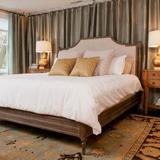 Transitional Bedroom by Dietz & Associates Inc.
