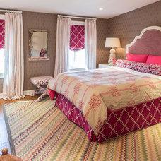 Transitional Bedroom by Marks & Frantz Interior Design