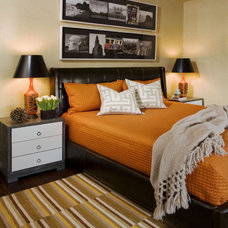 Eclectic Bedroom by Willey Design LLC
