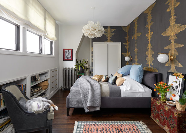 Transitional Bedroom by LBR | HOME
