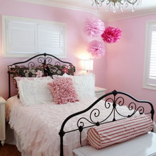 Traditional Bedroom by Found Design