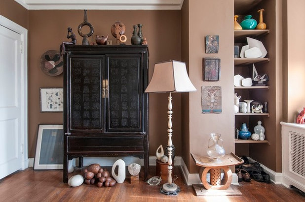 Eclectic Bedroom by Amy Krane Color Consulting