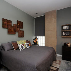 Contemporary Bedroom by DANFORTH designed