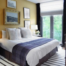 Contemporary Bedroom by BROWN DAVIS INTERIORS, INC.