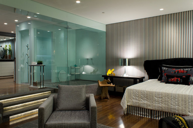 Modern Bedroom by Allan Malouf Studio