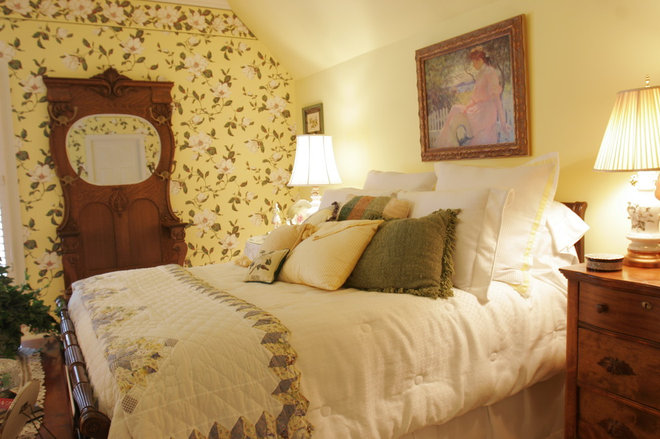 Traditional Bedroom by Interiors by Cassandra Layne