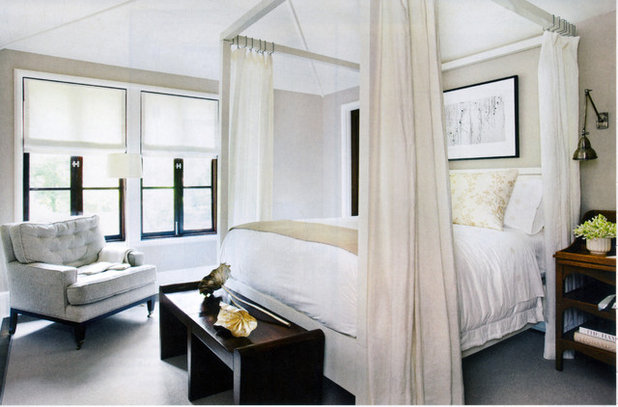 Sleep easy your guide to bed frame styles - Canopy bed in small room ...