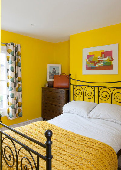 Houzz Tour High Low Mix In A Colorful Victorian