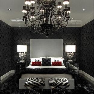 Inspiration for a contemporary bedroom remodel in Atlanta