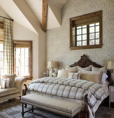 traditional bedroom by Slifer Designs