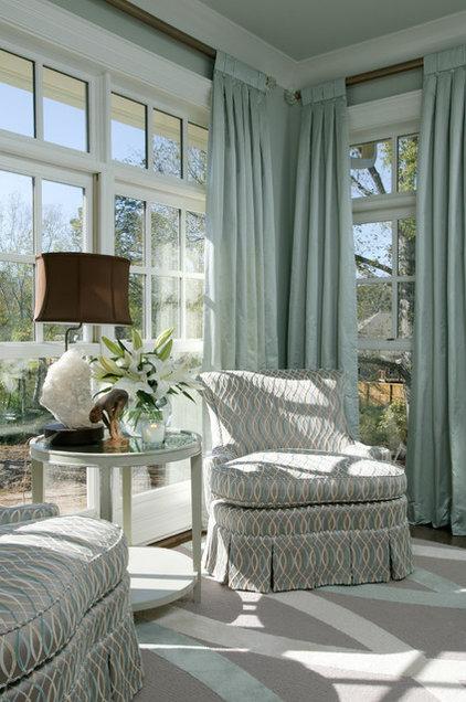 Bedroom by Tobi Fairley Interior Design