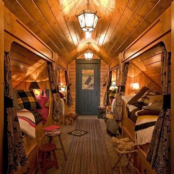 Built In Beds in Hallway