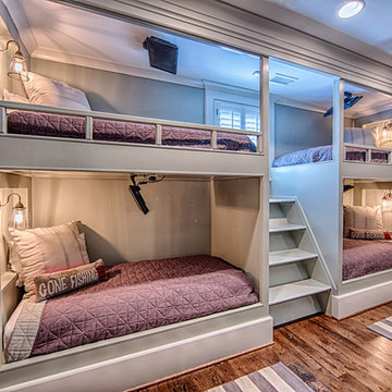 Built-in Bunk Bed Design and Installation