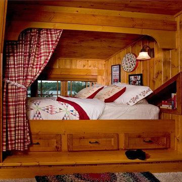Built In Dormer Bed