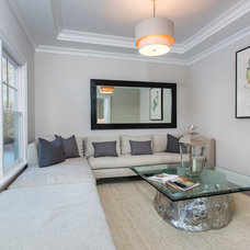 Transitional Bedroom by SIR Development