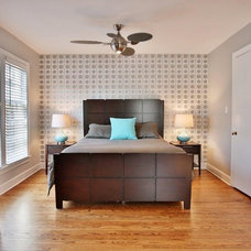 Contemporary Bedroom by Set The Stage