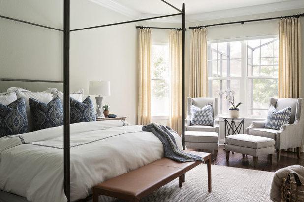 Современная классика Спальня by Ashley Martin Home